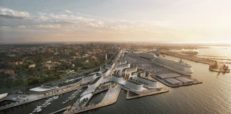 ZHA Port of Tallinn, Masterplan. ©Zaha Hadid Architects (ZHA) – Elaborazioni grafiche by VA-Render