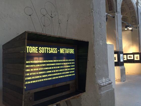 le Metafore di Sottsass. Exibition view at BDC18, Parma 2017. Photo Jacopo Costa