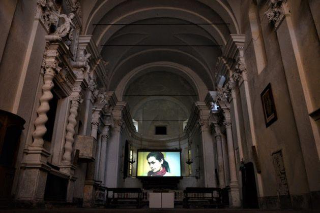 Adrian Paci - Chiesa di San Francesco Noli 2017