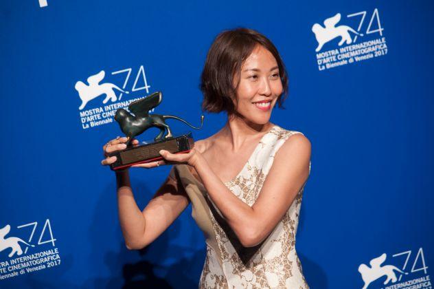 Venezia 74, ph. Irene Fanizza_premio Best VR Story Gina Kim