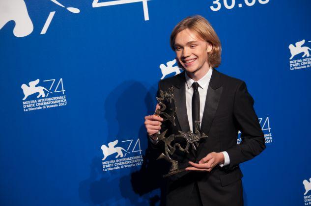 Venezia 74 ph. Irene Fanizza, Premio Marcello Mastroianni Charlie Plummer