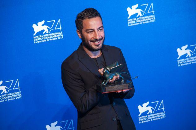 Venezia 74, ph Irene Fanizza_premio orizzonti migliore attore, Navid Mohammadzadeh