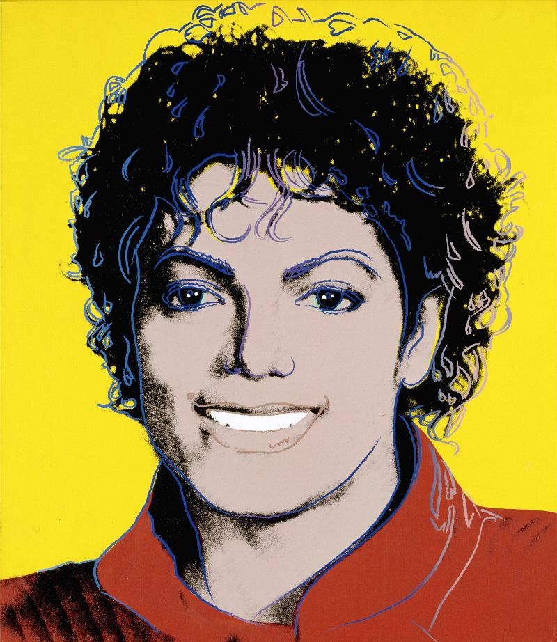 Michael Jackson, Andy Warhol