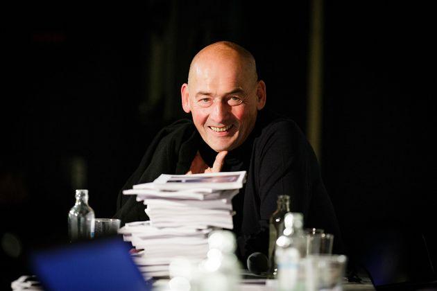 Rem Koolhaas Photo Fred Ernst. Courtesy OMA