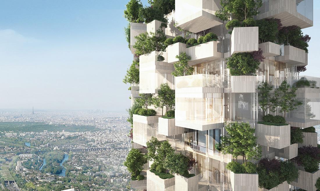 Balcon sur Paris, La Forêt Blanche - SBA