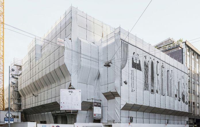 Installazione di Vincenzo D'Alba, foto di Lorenzo Bacci