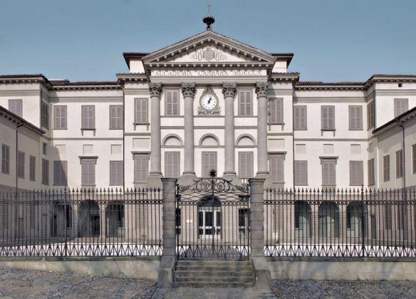 Accademia Carrara di Bergamo, facciata Foto Mario Cresci