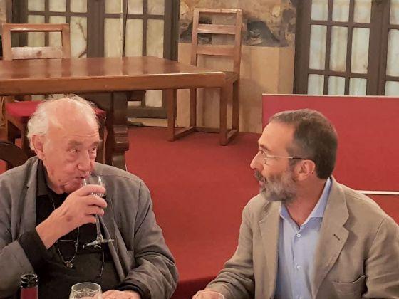 Marco Bazzini e Daniel Spoerri