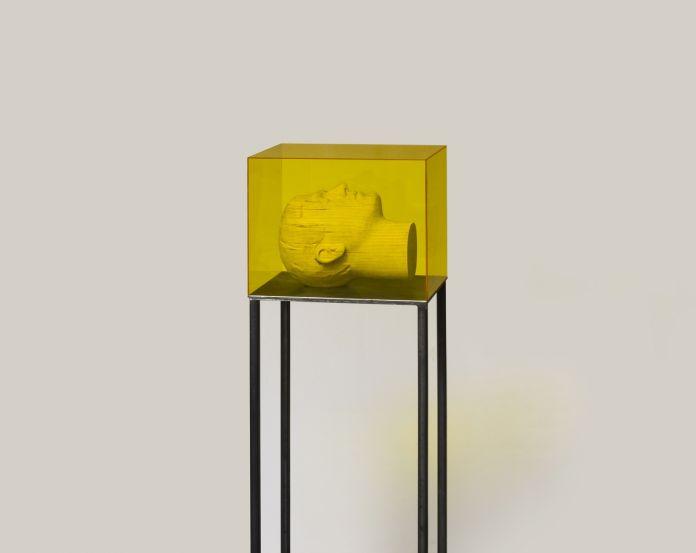 Andreas Senoner, Layers, 2017, exhibition view at Doppelgaenger, Bari 2017