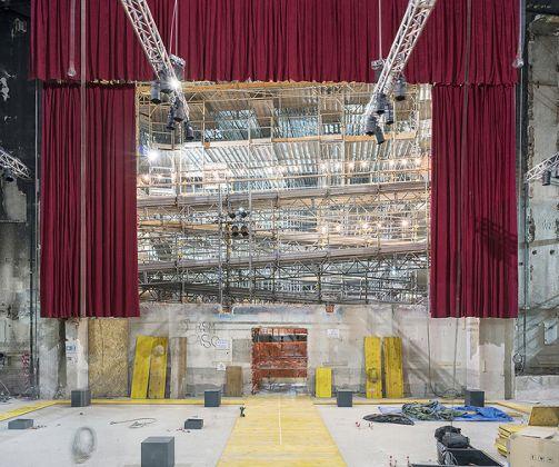 Interni del Teatro Lirico, foto di Lorenzo Bacci