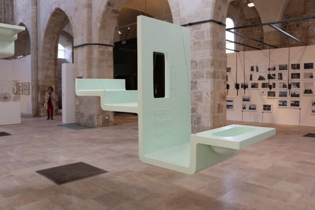 Biennale d'Architecture d'Orleans 2017. Installation view. Courtesy FRAC
