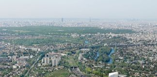 Masterplan – Balcon Sur Paris, Diorama Compagnie De Phalsbourg Archi