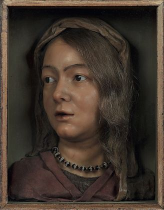 Anna Morandi, Manzolini, Testa di giovane donna, 1730 - 40