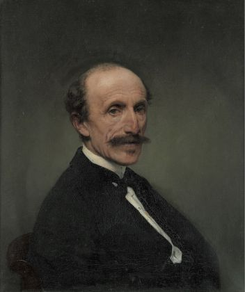 Francesco Hayez Ritratto dell'ingegner Giuseppe Clerici, 1875-76