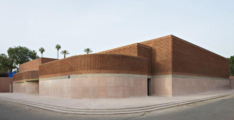 Façade du musée, © Fondation Jardin Majorelle / Photo Nicolas Mathéus