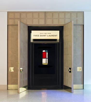 Entrée de la salle YSL, mYSLm © Fondation Jardin Majorelle / Photo Nicolas Mathéus
