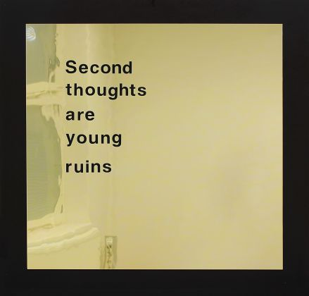 Alex Mirutziu, Second thoughts are young ruins, 2015