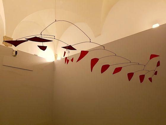 Alexander Calder, Grande mobile rosso, 1961