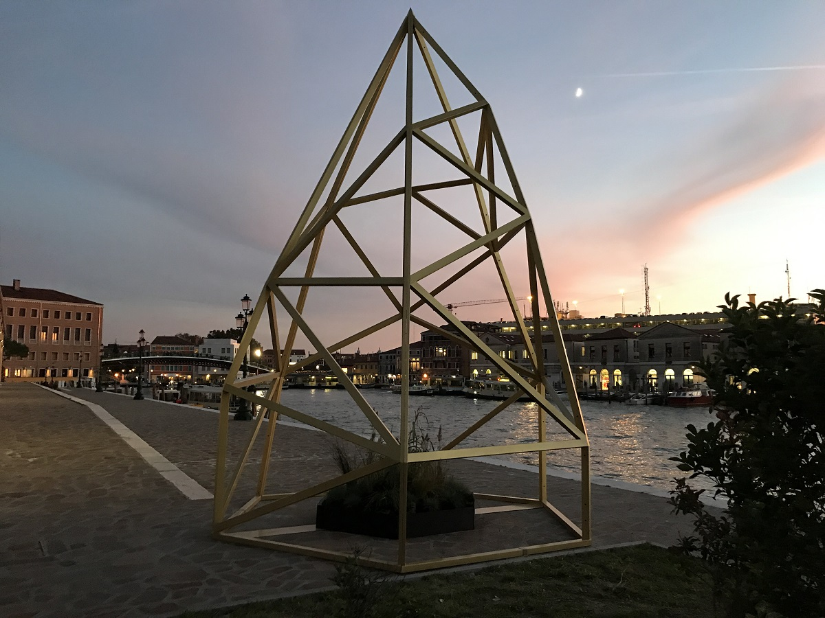 Andreco, Climate 04, 2017. Venezia, scultura