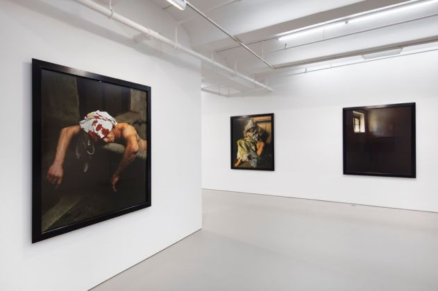 Andres Serrano. Torture. Exhibition view at Jack Shainman Gallery, New York 2017