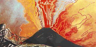 Andy Warhol, Vesuvius (nero), 1985. Collezione Intesa Sanpaolo © The Andy Warhol Foundation for the Visual Arts Inc. by SIAE 2017