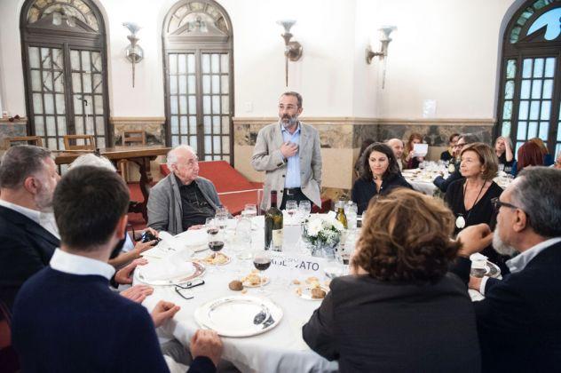 ArtVerona 2017. Daniel Spoerri e la cena palindroma