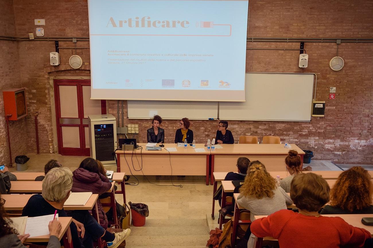 Artificare 2017, conferenza di presentazione a Cà Foscari. Ph. Like Agency