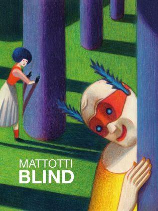 Lorenzo Mattotti, Blind (Logos Edizioni, 2017), copertina
