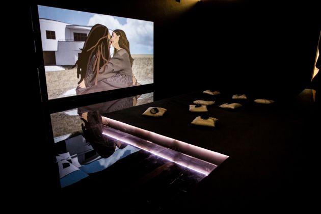 Cécile B. Evans, Biennale di Mosca 2017, photo Anya Temerina