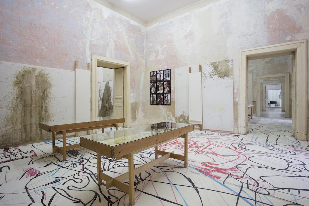 La sala dedicata a Hermann Nitsch