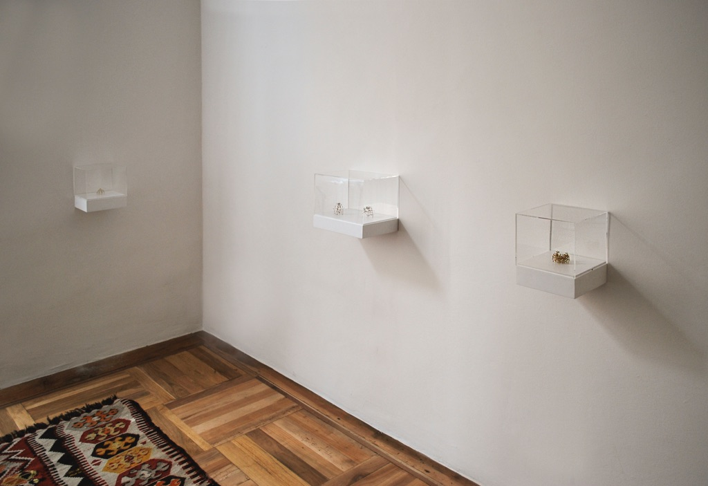 Christiane Löhr. Nodi e Snodi. Installation view at Tucci Russo ... ef3ca3badf5b