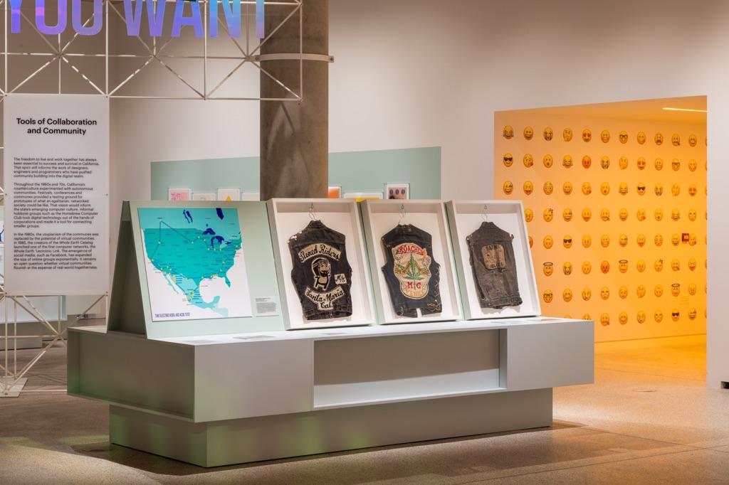 California Designing Freedom. Exhibition view at Design Museum, Londra 2017. Photo Luke Hayes