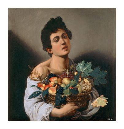 Caravaggio, Giovane con canestro di frutta (c) Ministero dei Beni e delle Attività Culturali e del Turismo - Galleria Borghese