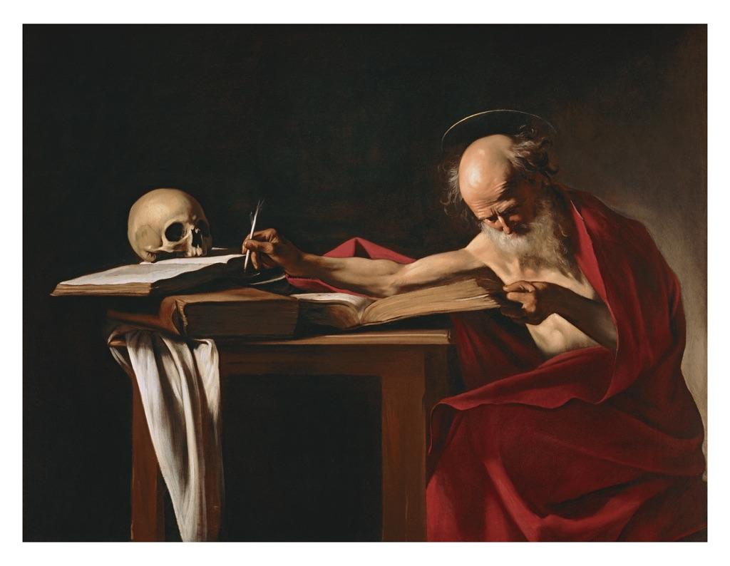 Caravaggio, San Girolamo Caravaggio (c) Ministero dei Beni e delle Attività Culturali e del Turismo - Galleria Borghese