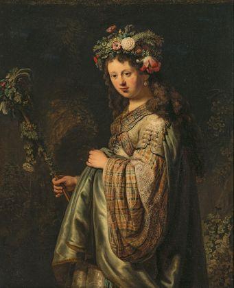 Rembrandt van Rijn, Flora, 1634 © State Hermitage Museum, St Petersburg