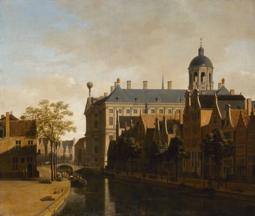 Gerrit Berckheyde, View of Amsterdam City Hall, 1670 © State Hermitage Museum, St Petersburg