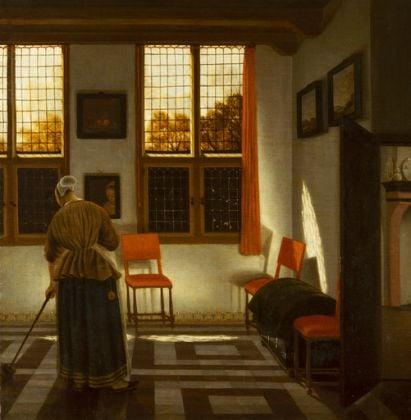 Pieter Janssens Elinga, Room in a Dutch House, c. 1665–75 © State Hermitage Museum, St Petersburg