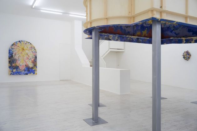 Edoardo Piermattei. Patroni. Exhibition view at Galleria Thomas Brambilla, Bergamo 2017