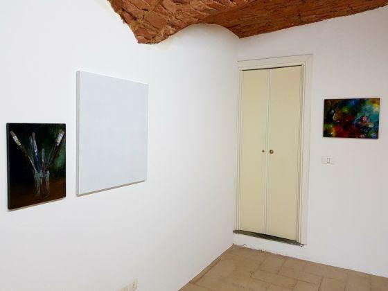 Eugenia Vanni. Exhibition view at Galleria Fuoricampo, Siena 2017