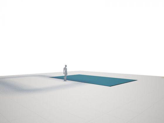 Floating Cube Ron Gilad