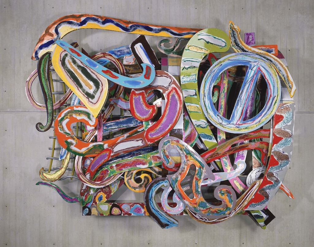 Frank Stella, Indian and Exotic Bird Series, 1978-79