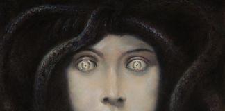 Franz von Stuck, Testa di Medusa, 1892 ca.