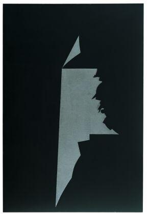 GINO DE DOMINICIS (1947-1998)Con Titolo (Ghilgamesh), 1988Mixed media on panel97⅝ x 66⅛ in. (248 x 168 cm.)© Estate of the artist / Archivio Gino De Dominicis, Foligno, Italy. DACS 2017.