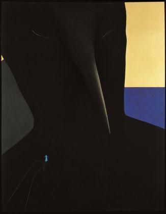 GINO DE DOMINICIS (1947-1998)Senza titolo (Lady Diana), 1985 Mixed media on panel84⅝ x 108¼ x 16⅞ in. (215 x 275 x 43 cm.)© Estate of the artist / Archivio Gino De Dominicis, Foligno, Italy. DACS 2017.