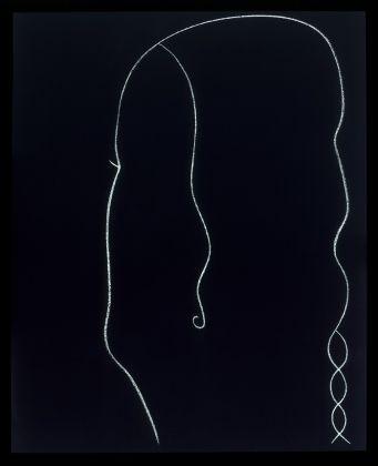 GINO DE DOMINICIS (1947-1998)Senza Titolo, 1986 Tempera and chalk on panel50¾ x 41⅜ in. (129 x 105 cm.)© Estate of the artist / Archivio Gino De Dominicis, Foligno, Italy. DACS 2017.