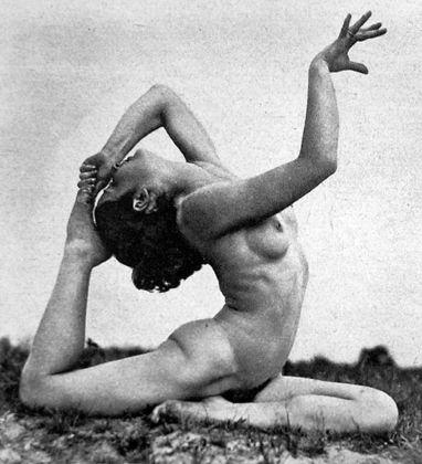 Gehrard Riebicke, Gymnastische Bewegung, 1932 48. Collezione privata, Amburgo. Courtesy Bodo Niemann, Berlino