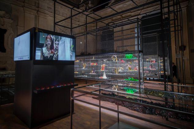 Gianfranco Ferré. Installation view at Palazzo Madama, Torino 2017
