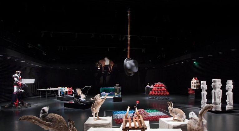 Gianni Colosimo. L'art Contemporaine raconté aux enfants. Exhibition view at Centre Pompidou, Metz 2011. Photo Claudio Abate