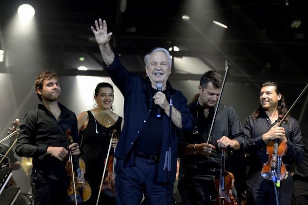 Giorgio Moroder e The Heritage Orchestra, An Evening with Giorgio Moroder, OGR Torino, photo Filippo Alfero