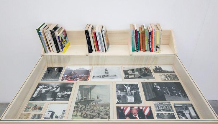 Giovanni Morbin. Privazione (Deprivation). Installation view at prometeogallery, Milano 2017